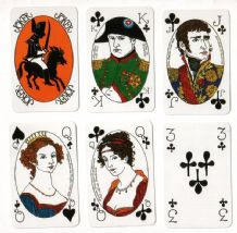 Collectable Non-standard playing cards Napoleon